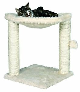 NEW-Trixie-Baza-Cat-Tree-Furniture-Pet-Bed-House-w-Toy-Scratch-Post-Scratcher