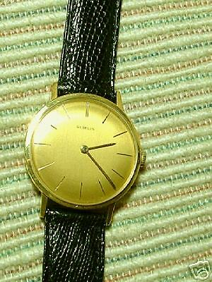 Mens  'Vintage'  GUBELIN  18k  Wristwatch  VERY FINE