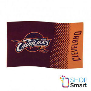 CLEVELAND CAVALIERS OFFICIAL AMERICAN BASKETBALL TEAM NBA LARGE FLAG ROOM MATCH