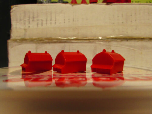MONOPOLY HOUSES AND HOTELS SPARE//REPLACEMENT VARIOUS EDITIONS