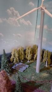 8 Solarmodule für Solarpark   Spur N 1:160    Bausatz