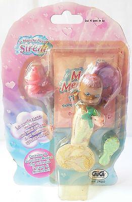 Giocattoli E Modellismo Le Magiche Piccole Sirene Serie Mini Viola Gig 24010 Blister 12cm Spruzza Acqua