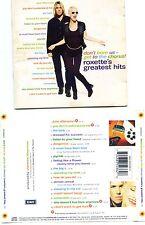 """ROXETTE """"GREATEST HITS"""" CD BRAZIL ( BRAZILIAN EDITION ) ++ RARE ++"""