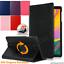 Custodia-per-Apple-iPad-12-9-3rd-Gen-Pro-amp-11-034-Pelle-360-Pro-ROTAZIONE-SMART-COVER miniatura 1