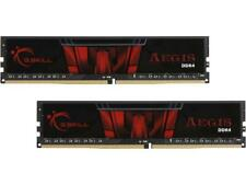 G.SKILL Aegis 16GB (2 x 8GB) 288-Pin DDR4 SDRAM DDR4 3000 (PC4 24000) Desktop Me