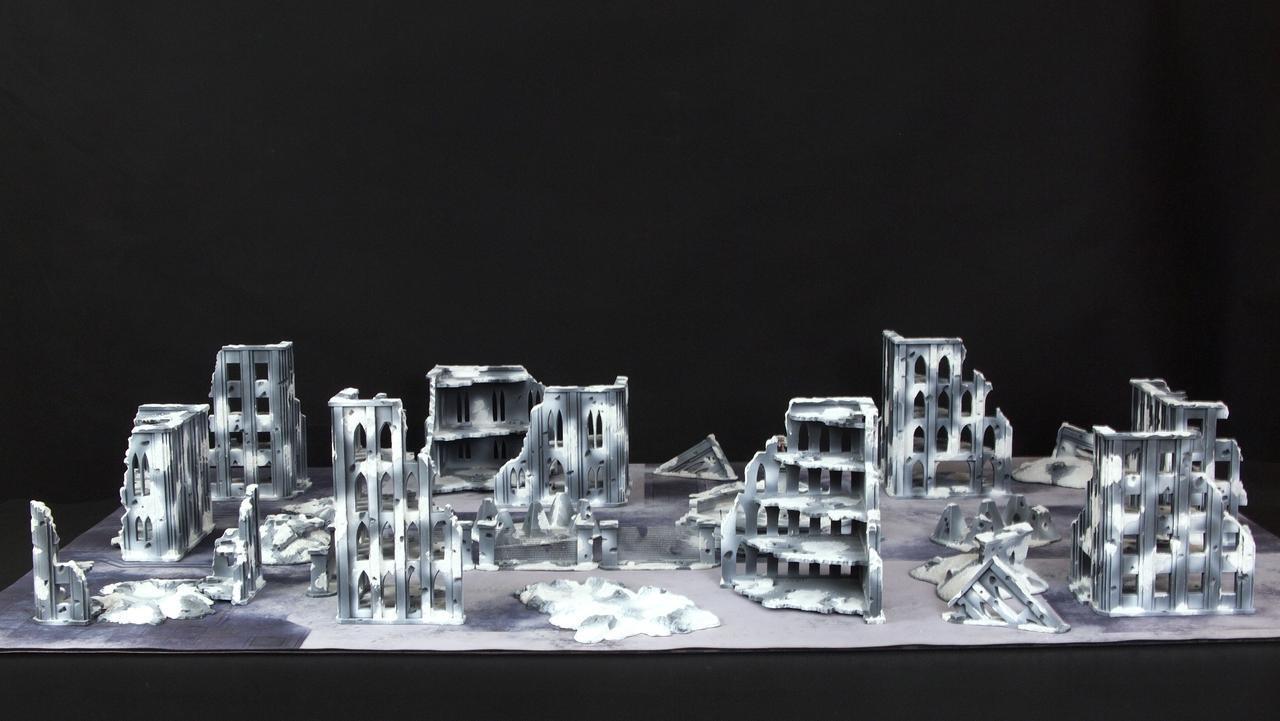 Frozen City Terrain Set (pictures in description)