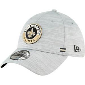 New Orleans Saints New Era NFL 2020 Onfield Road 39Thirty Flex Fit hat cap M/L