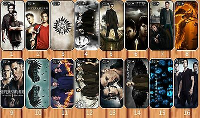 Supernatural Dean & Sam Winchester for iPhone And Samsung Galaxy Hard Case Cover