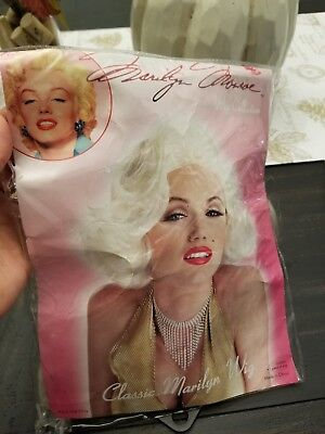 DREAMGIRL 5972  Marilyn Hollywood Starlet Costume /& blonde wig several sizes