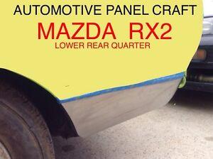 FITS MAZDA RX2 LOWER REAR QUARTER RUST REPAIR PANEL