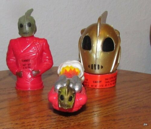 The Rocketeer Jet Pack on Wheels by Applause Two Rocketeer Candy Container /'s