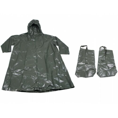 CZ Regenanzug JP 75 PVC oliv Regenmantel Schutzanzug Regen Poncho Regenjacke