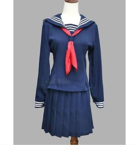 Japanese Japan School Uniform Dress Sailor Cosplay Costume Anime Girl Styles M25
