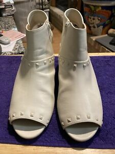 Comfortview Ladies Peep Toe Ankle Boots