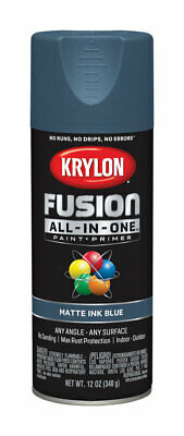 Krylon Fusion All In One Matte Ink Blue