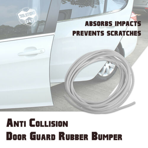 15FT 3M Backing Rubber Flexible Door Edge Guard Scratch Paint Protection Molding