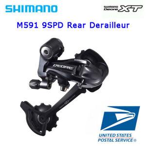 Shimano Deore RD-M591 SGS 9 Speed Rear Derailleur Long Cage MTB