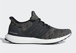 666fb1b846cb2 Adidas Men s Ultraboost 4.0 NEW AUTHENTIC Black Carbon Ash Silver ...