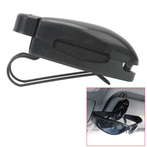 2 Piezas de Clip visor de Gafas De Sol Gafas Soporte para Coche Auto Negro Gafas De Lectura
