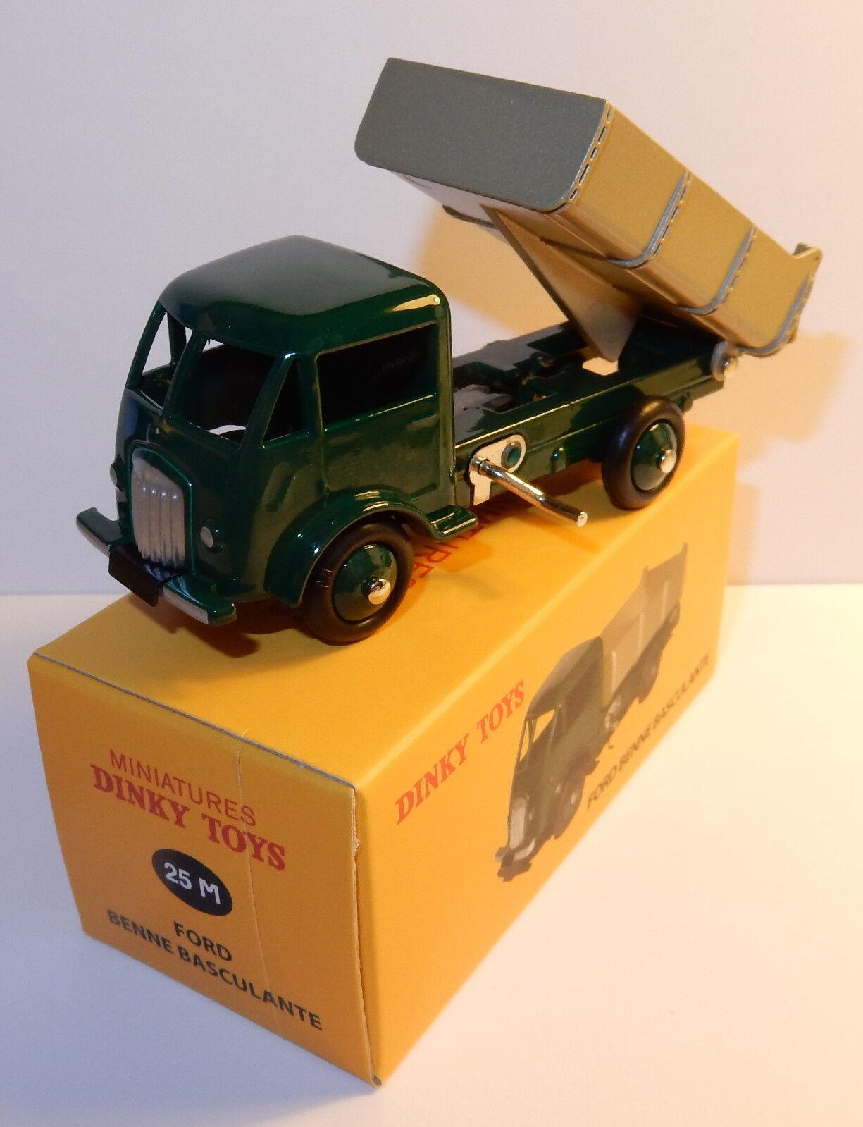 Reissue Dinky Toys Atlas Truck Ford Truck Benne Tilting Ref 82ft in Box B
