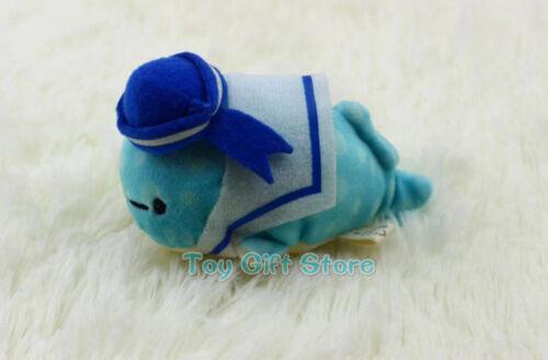 Jinbei San Whale Shark Deep-Sea Octopas 7-10CM Keychain Plush Doll Toy