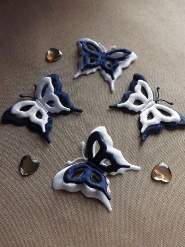 APPLIQUES Butterfly Motif sewing cardmaking crafts kids baby wedding craft diy