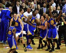 Golden State Warriors FINAL BUZZER NBA Finals 2015 Curry Klay 16x20 POSTER PRINT