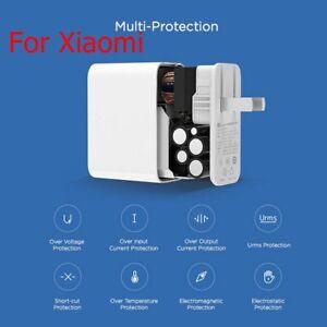 Pour-Xiaomi-45-W-USB-C-Alimentation-Adaptateur-QC3-0-ordinateur-portable-Smart-Charging