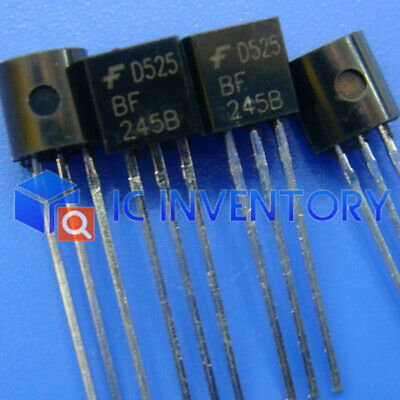 5 un BF245B F245B Jfet Canal N TO-92