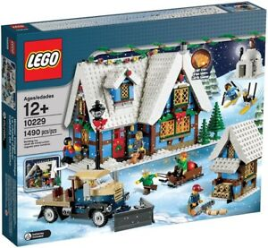 image is loading lego christmas winter village winter village cottage exclusive