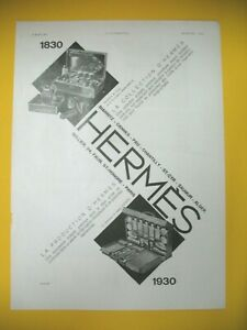 Advertising-Press-Hermes-Saddler-Collection-and-Production-Items-Luxe-1930