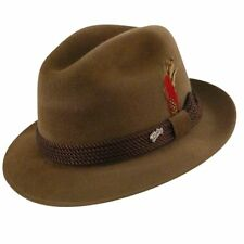 BAILEY OF HOLLYWOOD MEN S WOMEN S GENTRY FEDORA HAT. Camel Color. 7 3 8