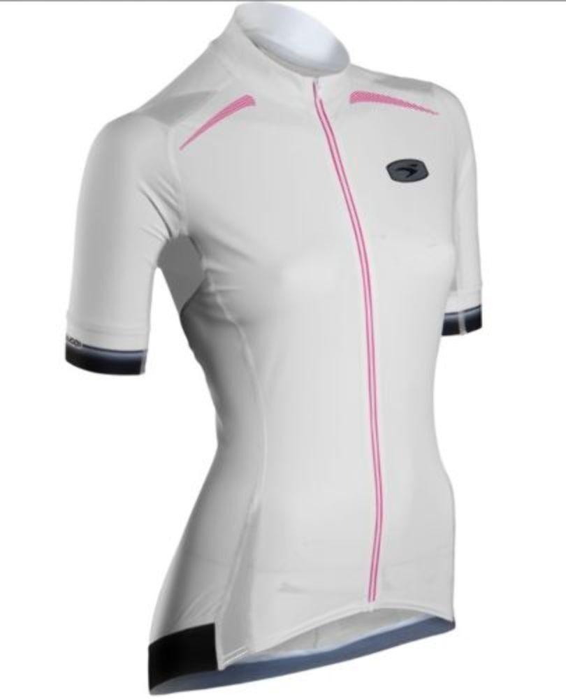 Sugoi Women's RSE Jersey White Medium Cycling Tri NEW