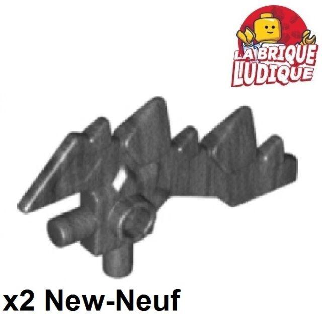 LEGO PART 59229 RED MINI FIGURE WEAPON SWORD SCYTHE BLADE