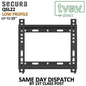 Image Is Loading Secura Qsl22 Low Profile Fixed Wall Mount Tv