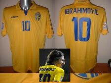 Sweden Umbro Adult XL ZLATAN IBRAHIMOVIC Shirt Jersey 2009 Football Soccer PSG