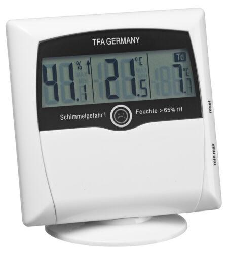 SCHIMMELHYGROMETER COMFORT CONTROL TFA 30.5011 THERMO-HYGROMETER MESSGERÄT ALARM