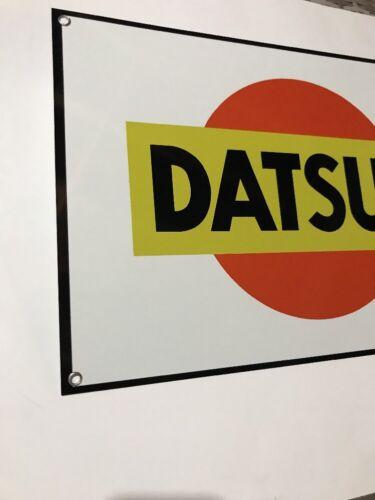 Datsun Racing  Vintage Reproduction Garage Sign