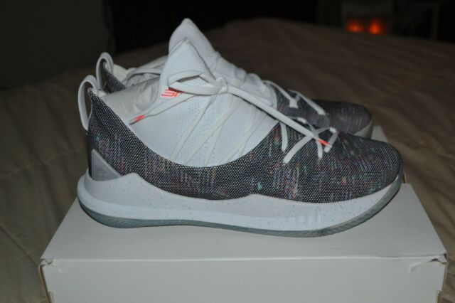 f91dd8d5b55db Under Armour UA Curry 5 Welcome Home White Neon Coral Men Sz 12 for ...