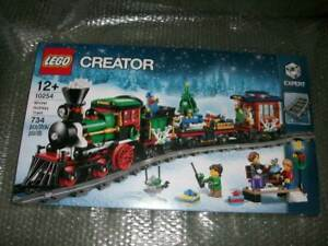 WEIHNACHTEN-Lego-10254-Limited-Edition-Winter-Holiday-Train-NEU-amp-OVP-F-SEALED