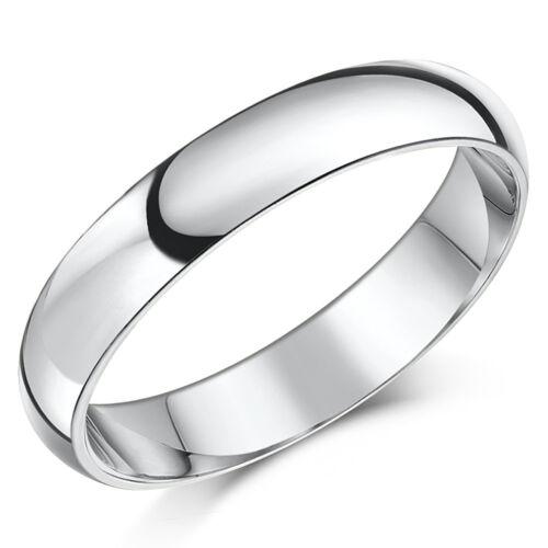 Palladium Wedding Ring Court Shaped Solid /& Hallmarked Comfort Shaped