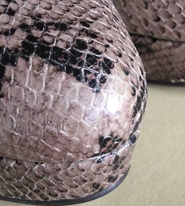 Taglia 7 EU 40 Carvela Kurt Geiger Snake Plateau Skin Pelle Plateau Snake   Tacco 5