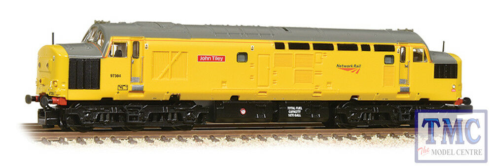 371-468A Graham Farish N Gauge classe 37 0 0 0 97304 'John Tiley' Netlavoro Rail 94c7a2