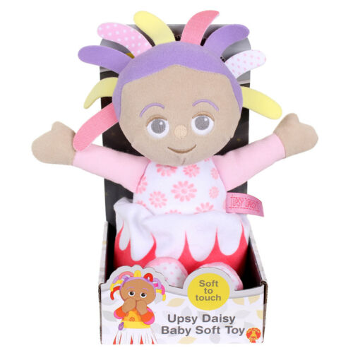 In the Night Garden  Upsy Daisy Squeaky Soft Toy-Baby Gift Suitable From Birth
