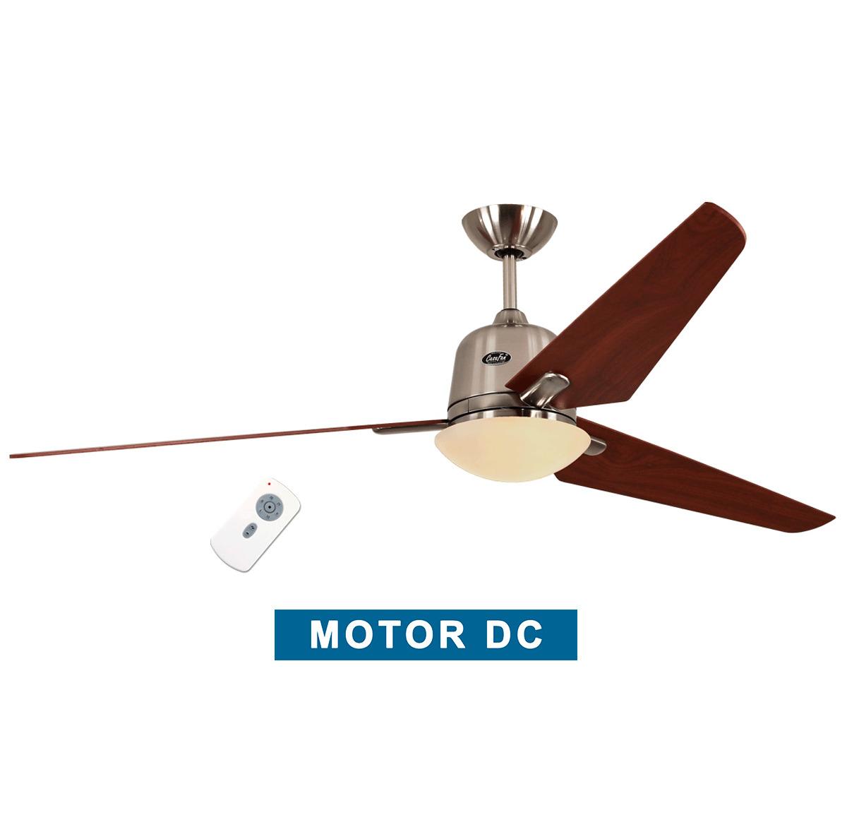 Ceiling fan with light CasaFan 516088 ECO AVIATOS 162 cherry / chrome...