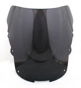 Windshield WindScreen Double Bubble For Honda CBR1100XX Blackbird 97-06 Black/A5