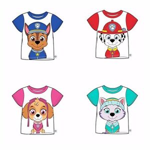 Paw Patrol Girls Chase Marshall Skye Everest Pajamas