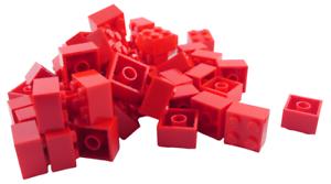 Lego-50-Piece-Rouge-Pierres-2x2-3003-Neuf-en-Pieces-Basiques-Construction-City