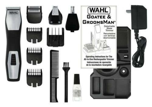 Wahl GROOMSMAN PRO Bartschneider Barttrimmer Body Trimmer Body Groomer 42484
