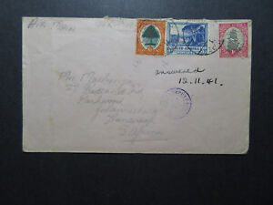 South-Africa-1941-Censor-Airmail-Cover-Z11540